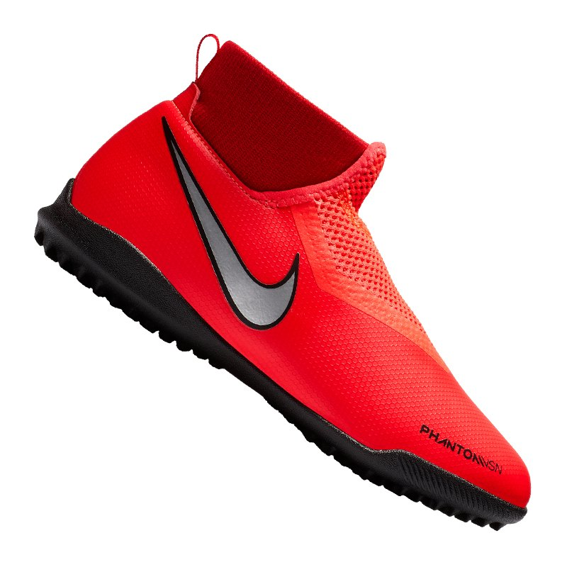 Nike Jr Phantom Vision Academy DF TF Kids F600 - rot