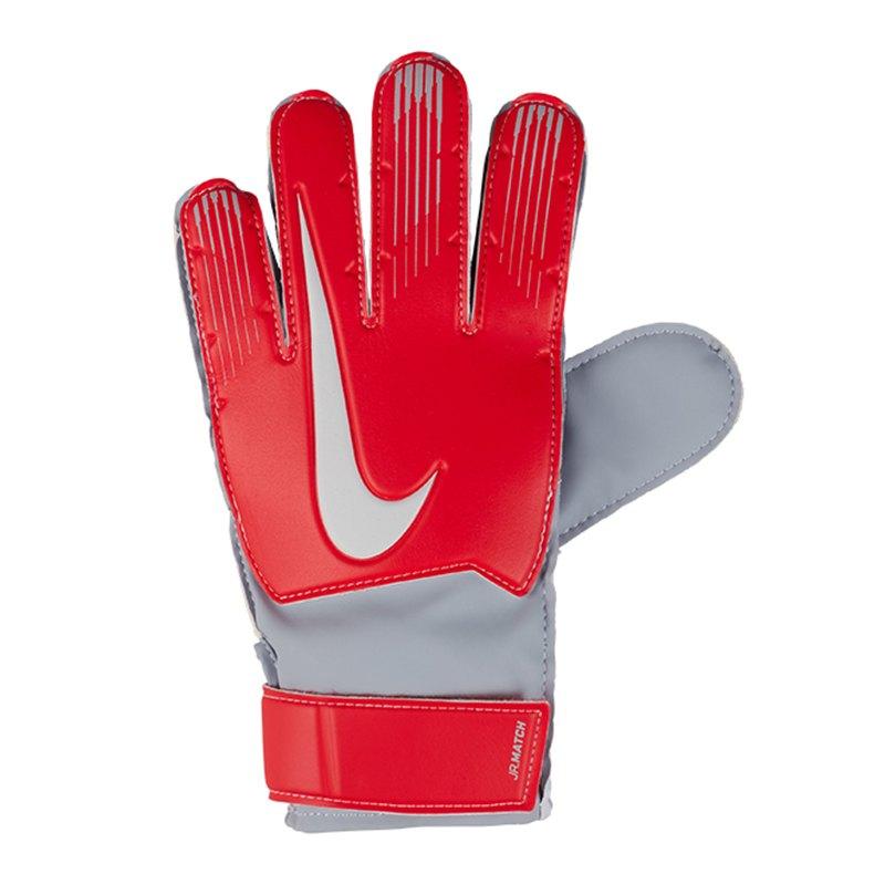 Nike Junior Match Torwarthandschuh Kids Rot F671 - rot
