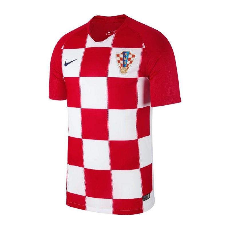 Nike Kroatien Trikot Home WM 2018 Rot F657 - rot