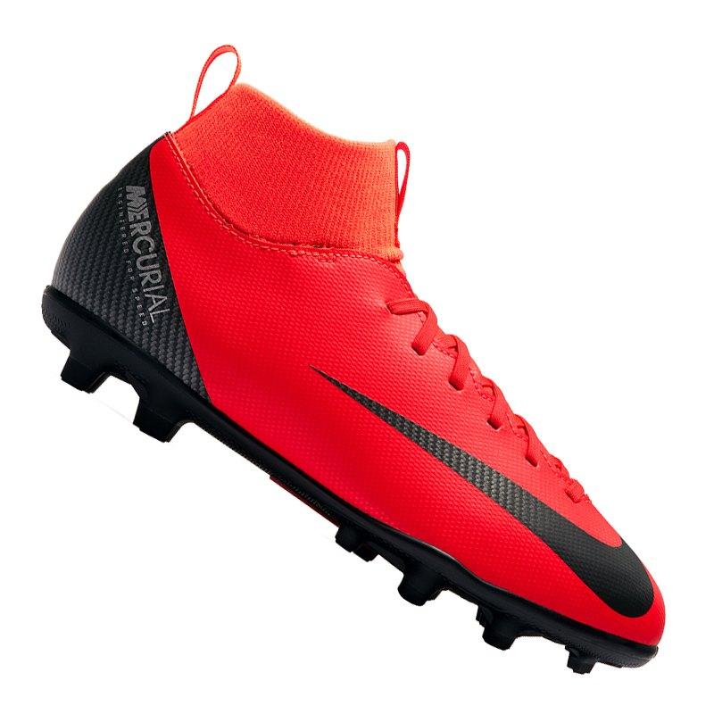Nike Mercurial Superfly VI Club CR7 MG Kids F600 - rot