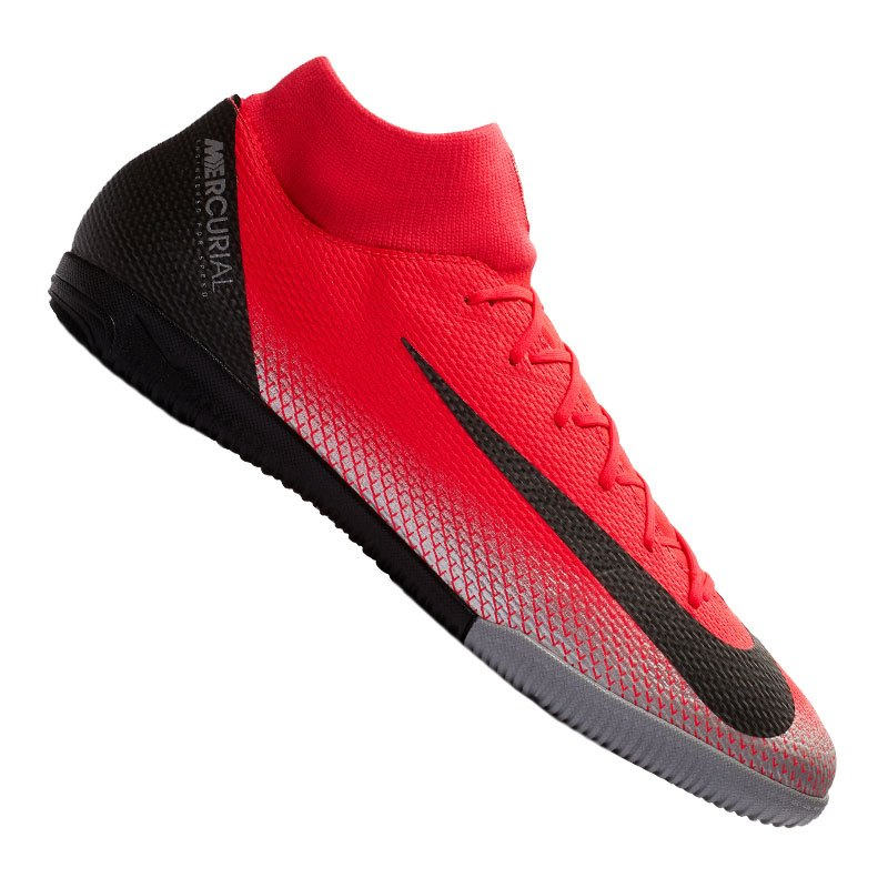 Nike Mercurial SuperflyX VI Academy CR7 IC F600 - rot