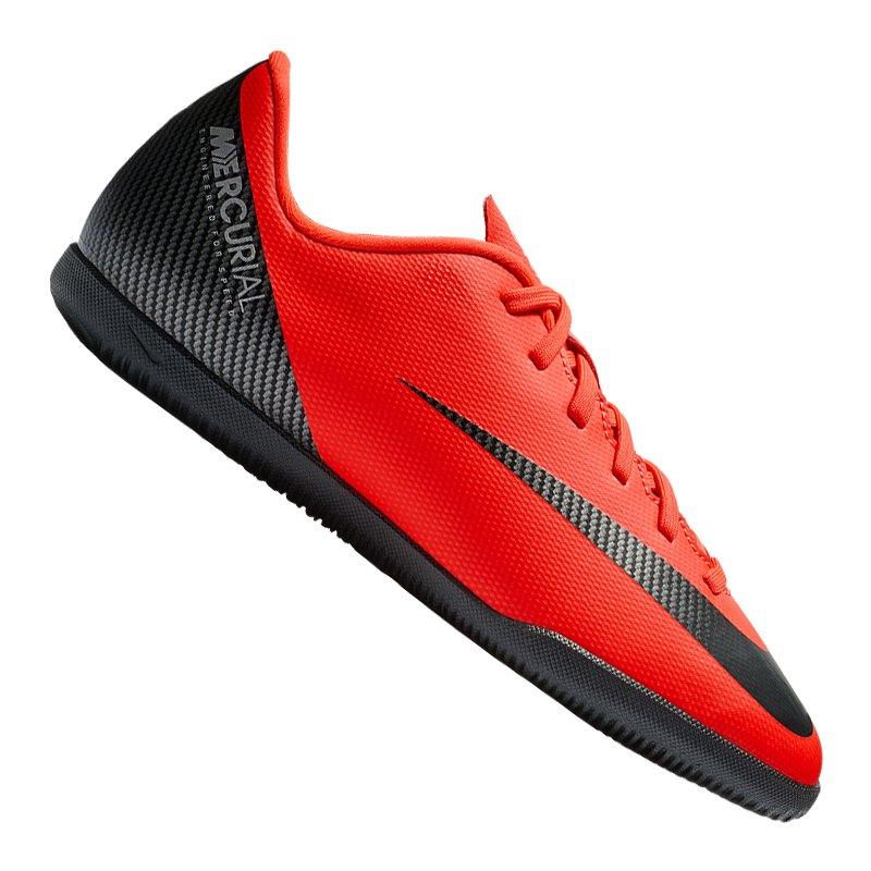 Nike Mercurial Vapor XII Club CR7 IC GS Kids F600 - rot
