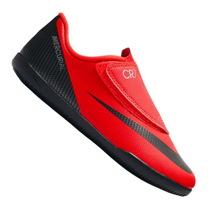 Nike Mercurial Vapor XII Club CR7 IC PS Kids F600 - rot