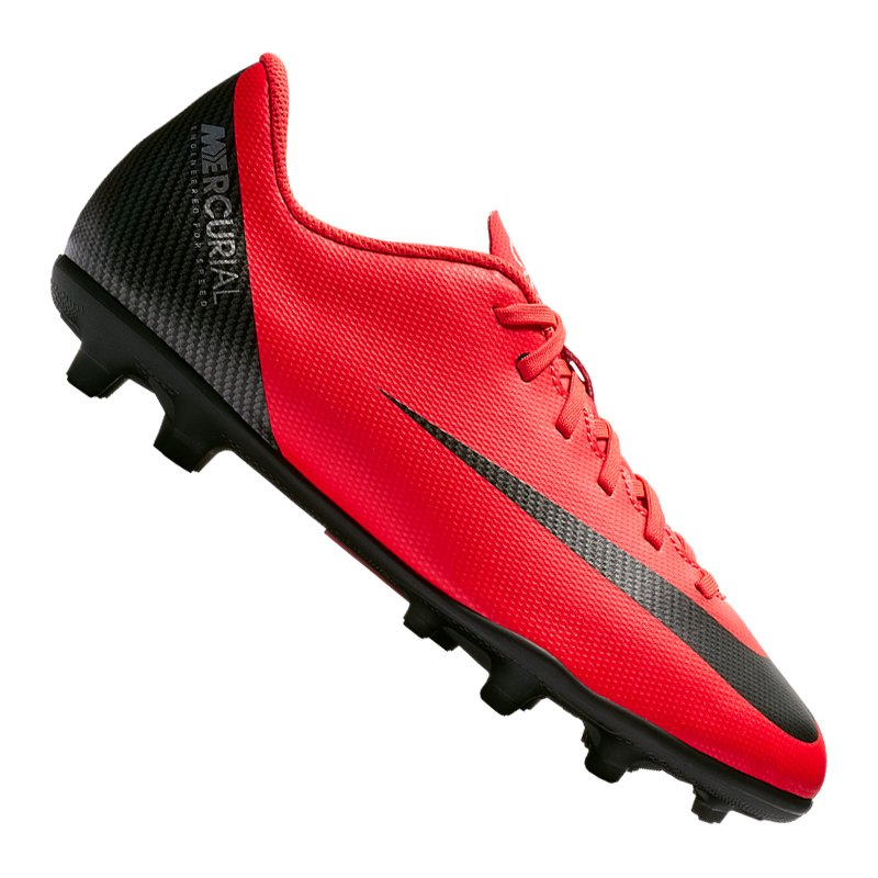 Nike Mercurial Vapor XII Club CR7 MG GS Kids F600 - rot