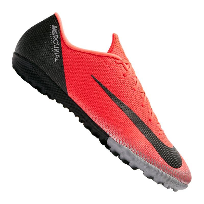 Nike Mercurial VaporX XII Academy CR7 TF Rot F600 - rot