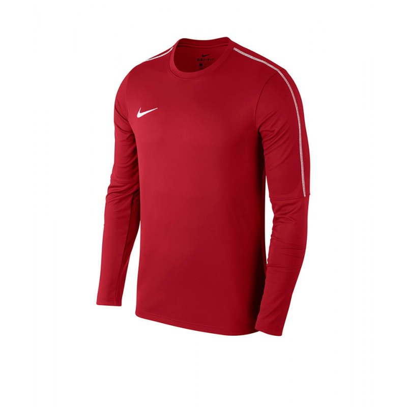 Nike Park 18 Crew Top Sweatshirt Kids Rot F657 - rot