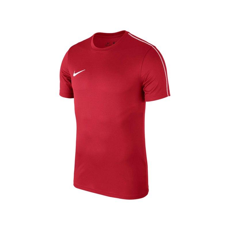 Nike Park 18 Football T-Shirt Kids Rot F657 - rot