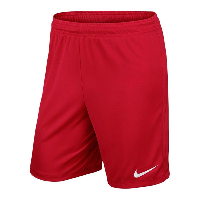 Nike Park II Short ohne Innenslip Rot F657 - rot