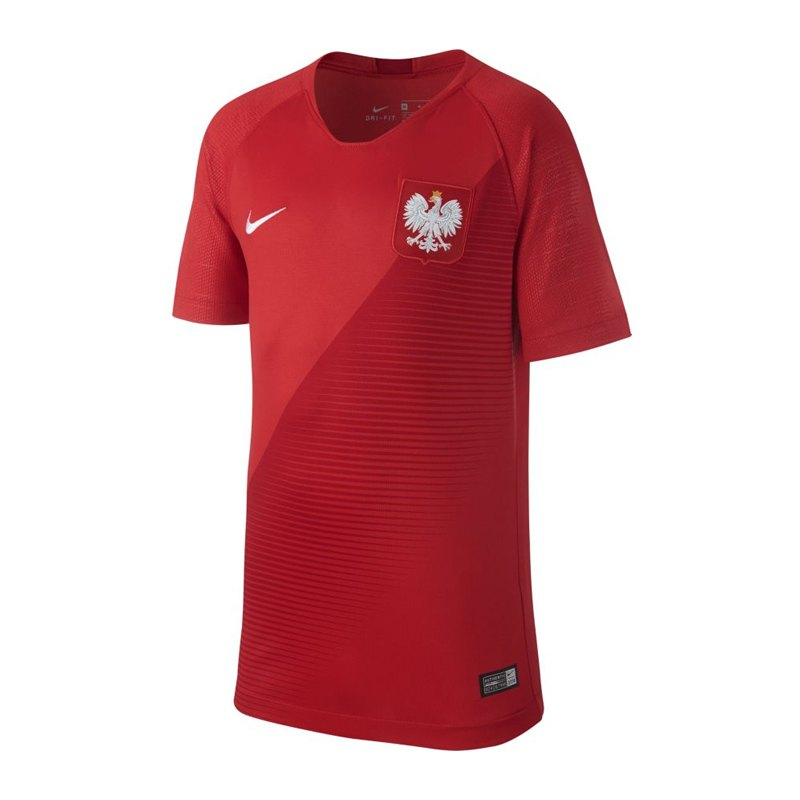 Nike Polen Trikot Away Kids WM 2018 Rot F611 - rot