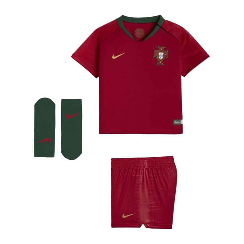 Nike Portugal Babykit Home WM 2018 Rot F687 - rot