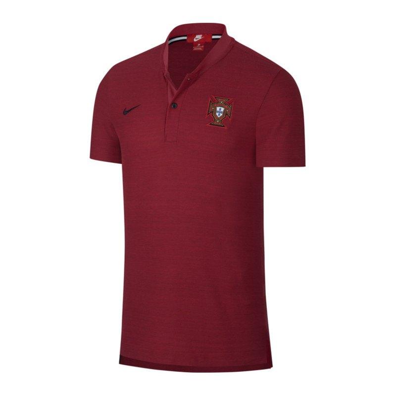 Nike Portugal Franchise Poloshirt Rot F677 - rot