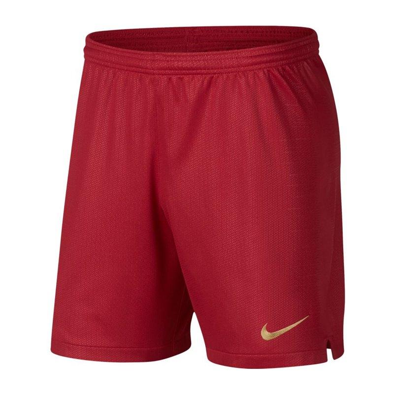 Nike Portugal Short Home WM 2018 Rot F687 - rot