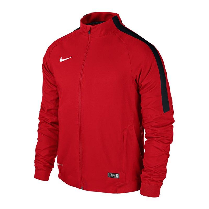 Nike Squad 15 Sideline Woven Jacke Rot F657 - rot
