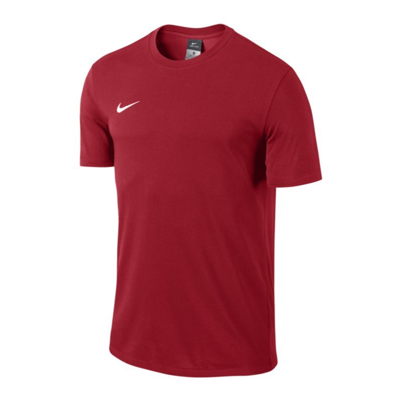 Nike Team Club Blend Tee T-Shirt Kids Rot F657 - rot