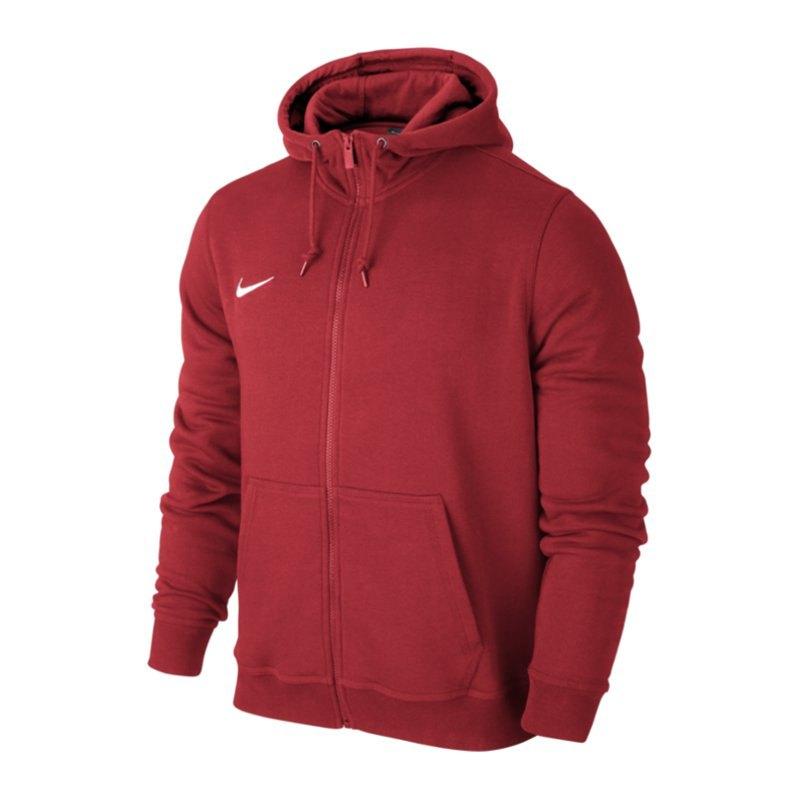 270917389e8a Jacke Team F657 Club Rot Nike Hoody Fullzip wIn14wqa
