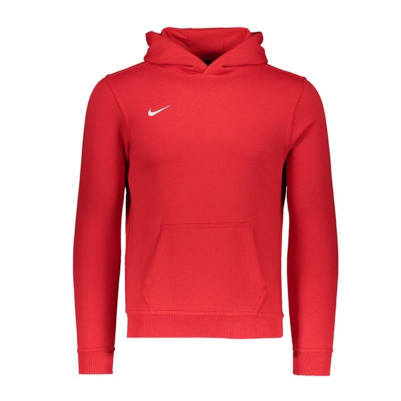 Nike Team Club Hoody Kids Rot F657 - rot