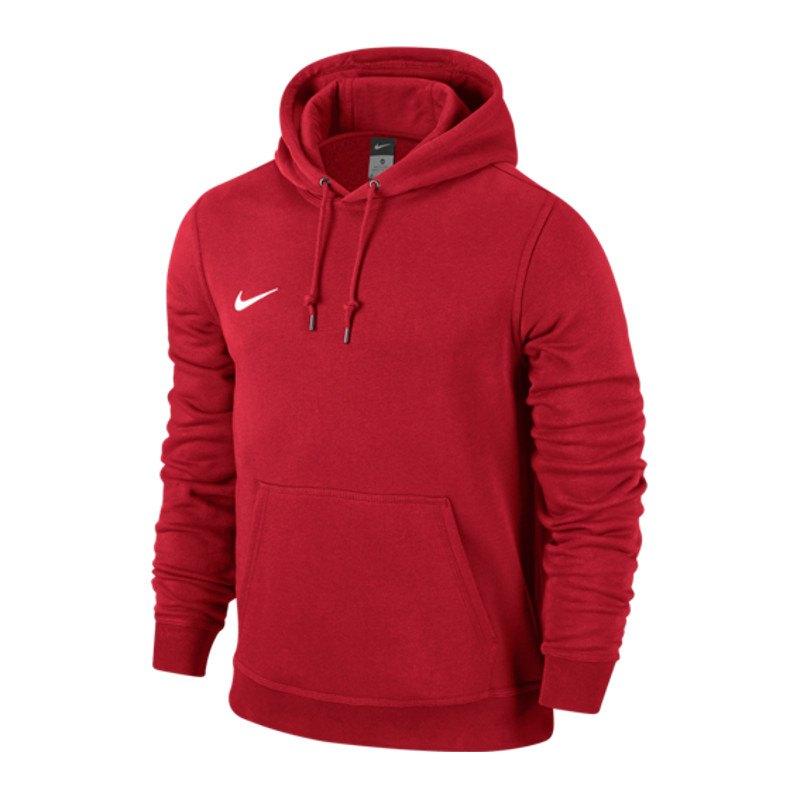 Nike Team Club Hoody Sweatshirt Rot F657 - rot