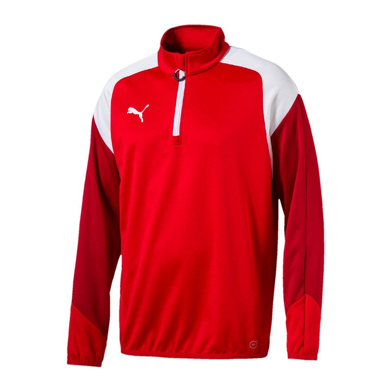 PUMA Esito 4 1/4 Zip Top Training Kids Rot F01 - rot