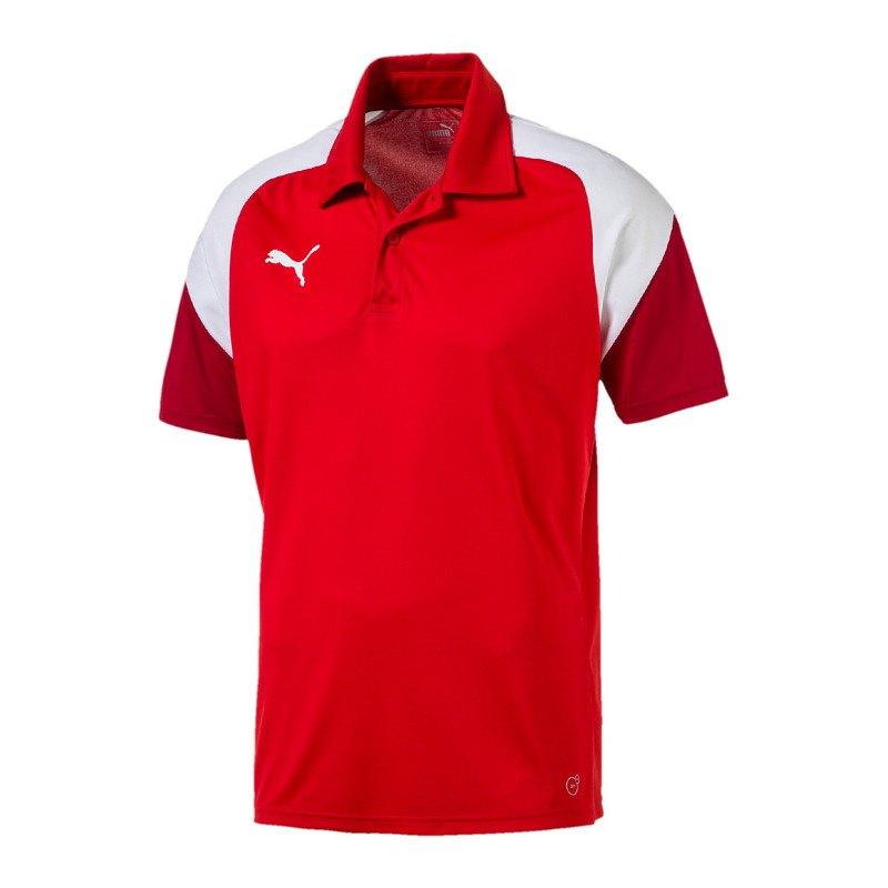 PUMA Esito 4 Poloshirt Kids Rot Weiss F01 - rot