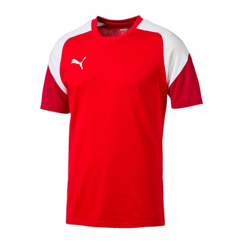 PUMA Esito 4 Tee T-Shirt Rot Weiss F01 - rot