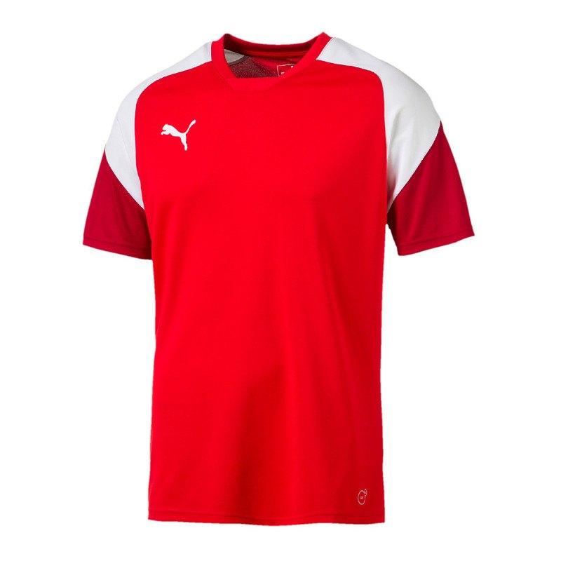 PUMA Esito 4 Trainingsshirt Kids Rot Weiss F01 - rot