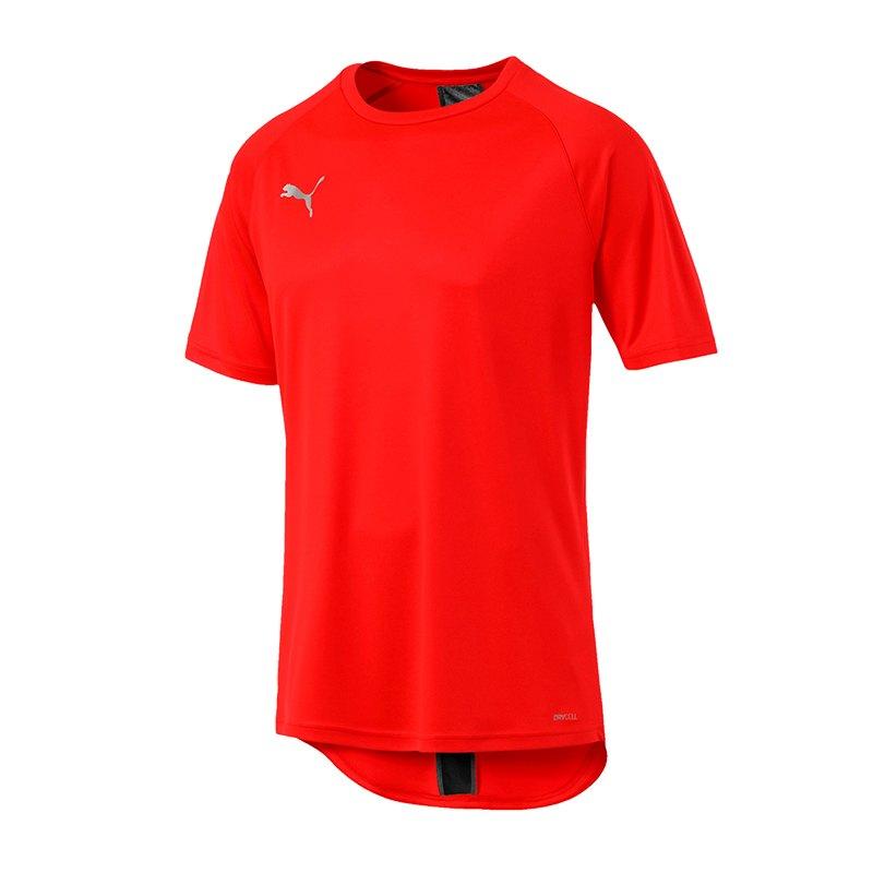 PUMA ftblNXT T-Shirt Rot Schwarz F04 - rot