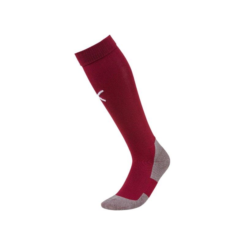 PUMA LIGA Socks Core Stutzenstrumpf Rot F09 - rot
