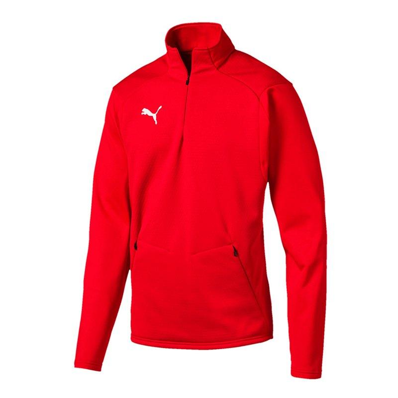 PUMA LIGA Training Fleece Sweatshirt Rot F01 - rot