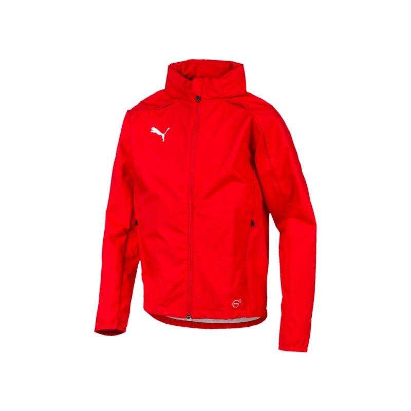 PUMA LIGA Training Rain Jacket Regenjacke Kids F01 - rot