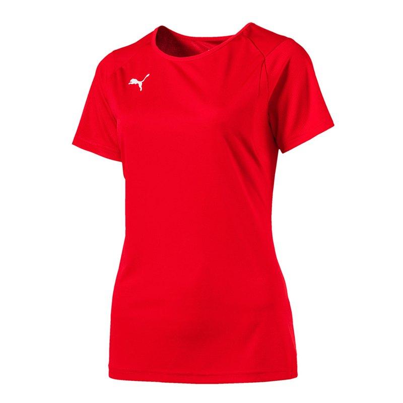 PUMA LIGA Training T-Shirt Damen Rot F01 - rot