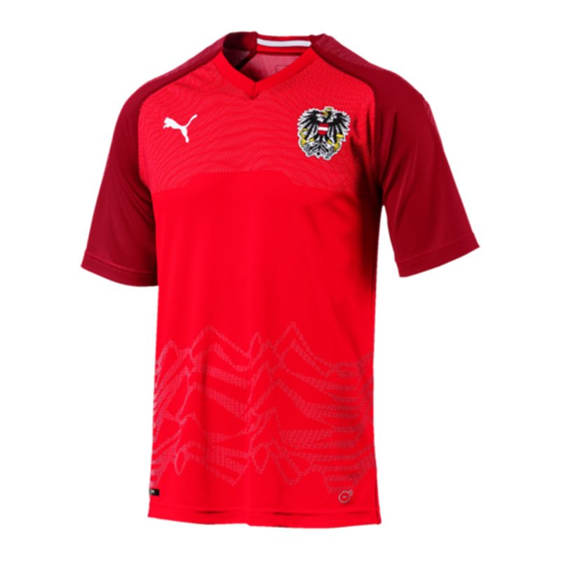 PUMA Österreich Trikot Home 2018 Rot F01 - rot