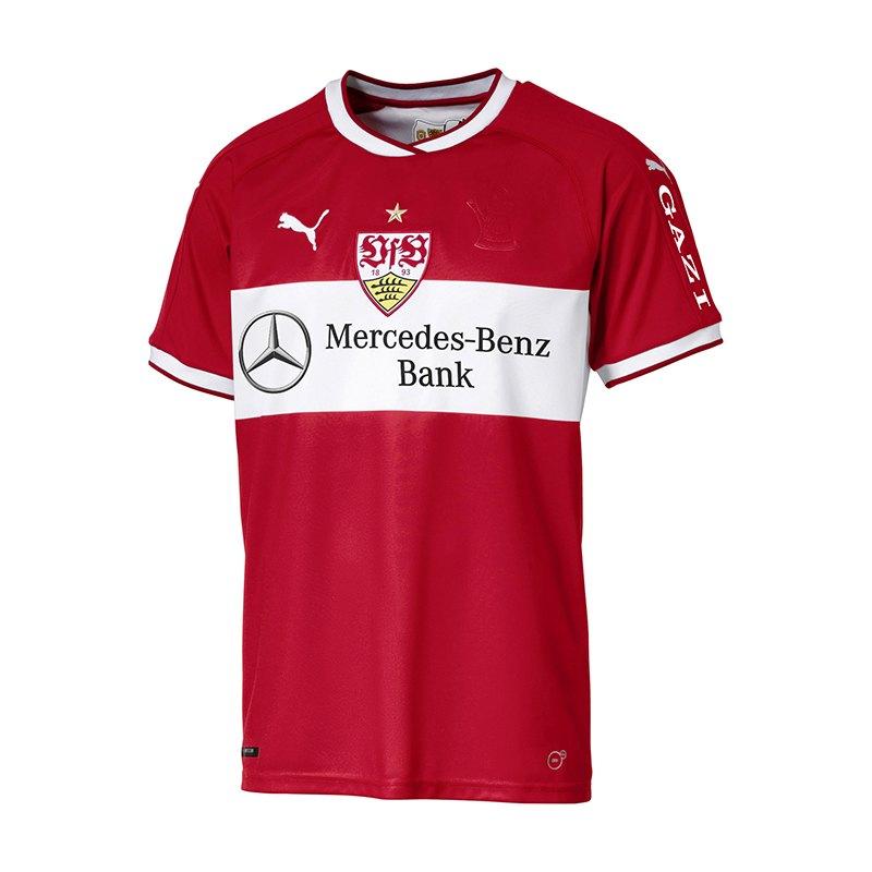 PUMA VfB Stuttgart Trikot Away 2018/2019 Rot F02 - rot