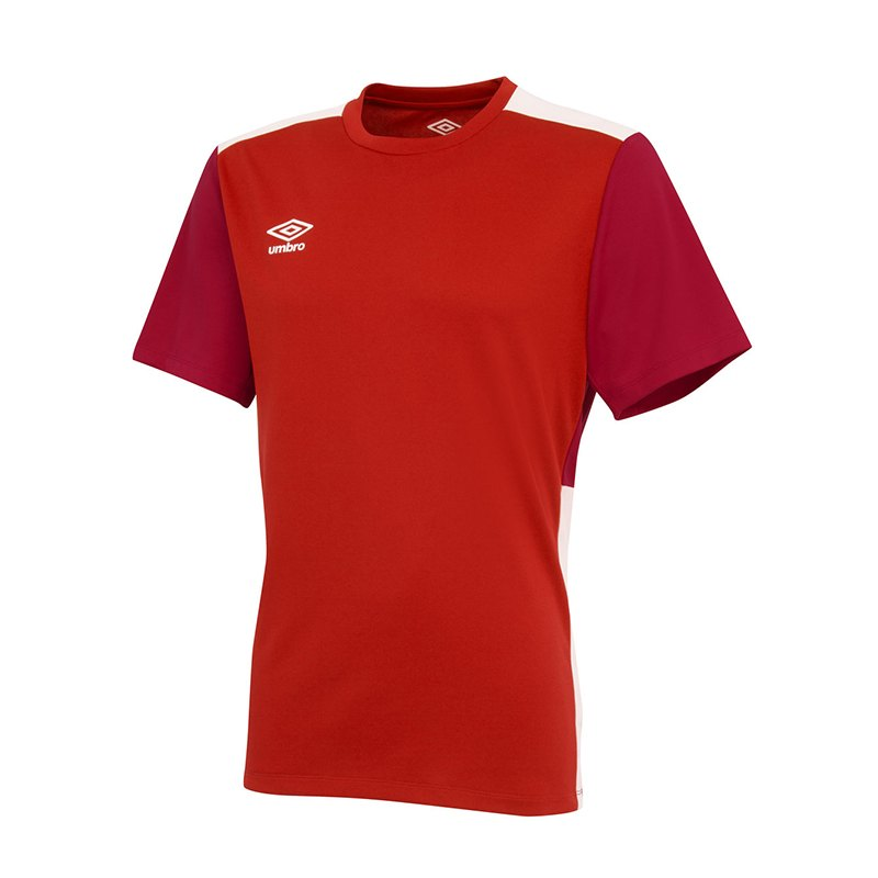 Umbro Training Poly Jersey Kids Rot FDNE - rot