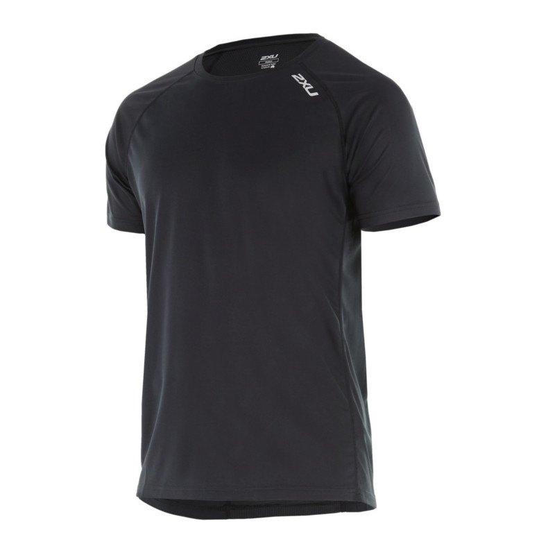 2XU X-Vent Tee T-Shirt Running Schwarz F0001 - schwarz