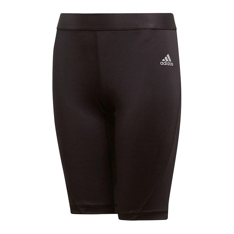 adidas Alpha Skin Short Tight Kids Schwarz - schwarz