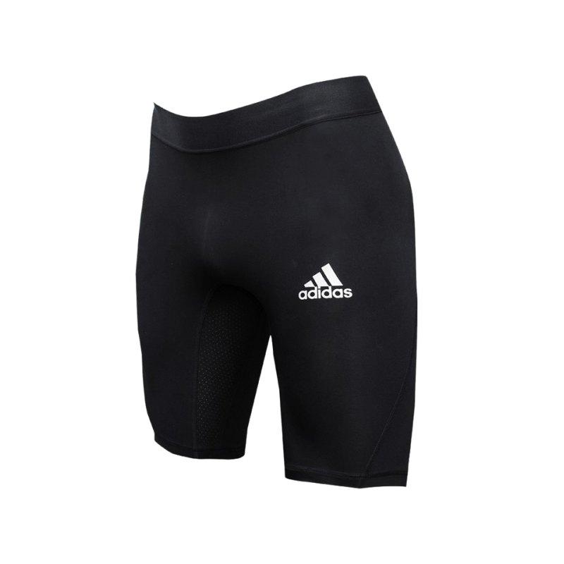 adidas Alphaskin Sport Short Schwarz - schwarz