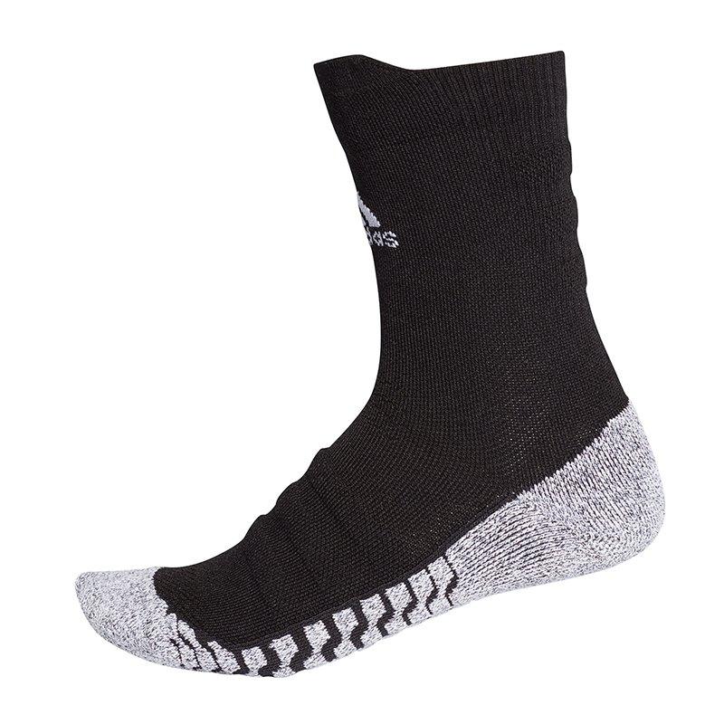 adidas Alphaskin Traxion Cush Crew Socken Schwarz - schwarz
