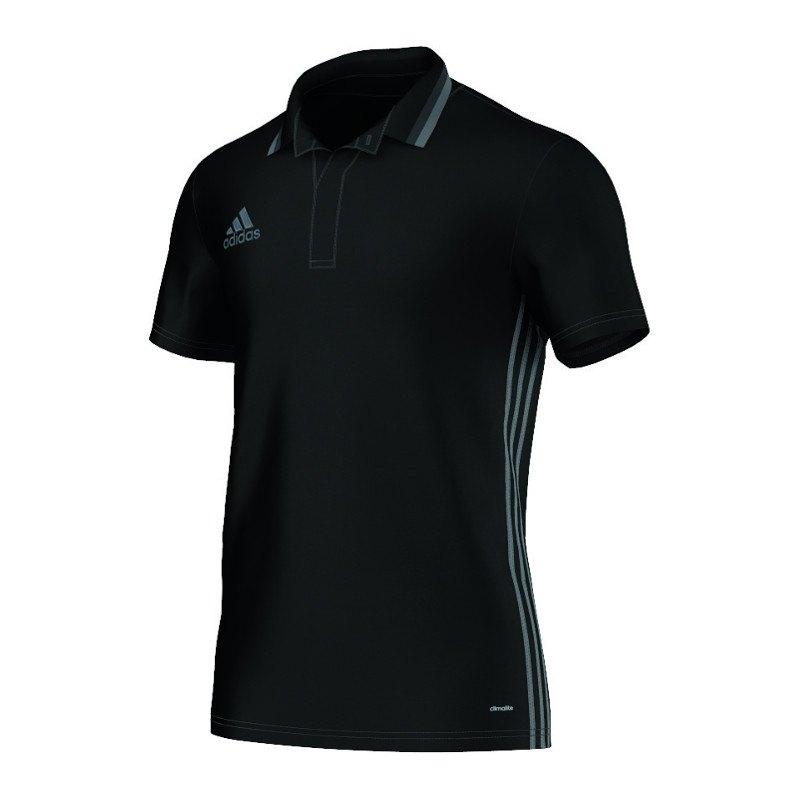 adidas Condivo 16 CL Poloshirt Schwarz Grau - schwarz