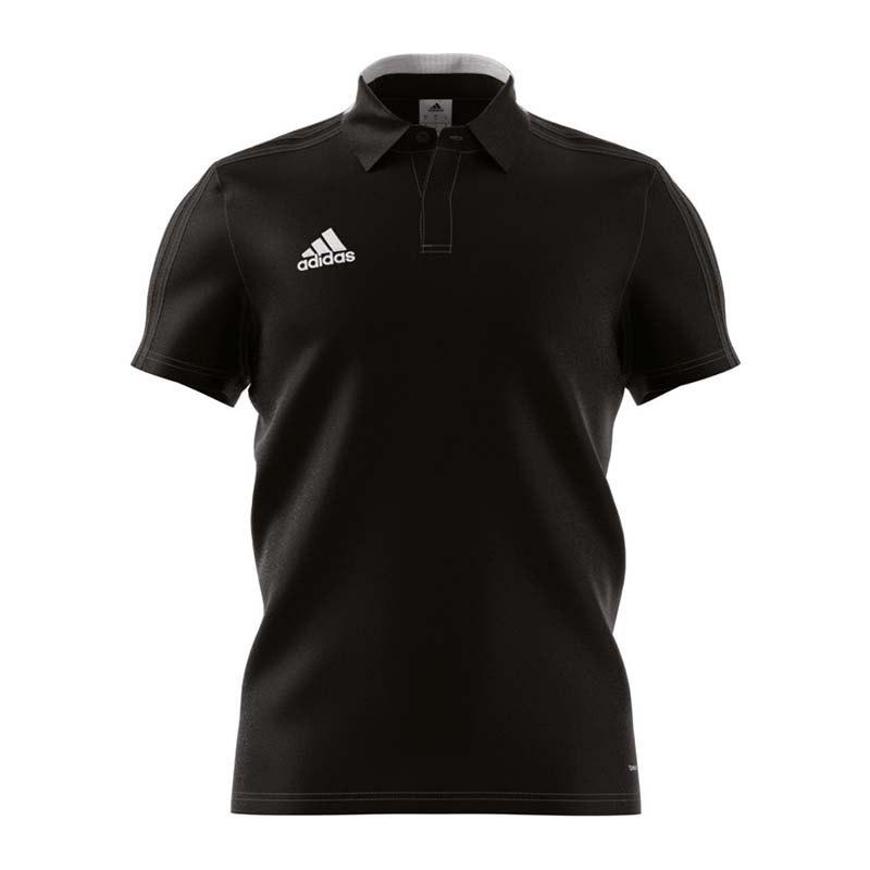 adidas Condivo 18 Cotton Poloshirt Schwarz Weiss - schwarz