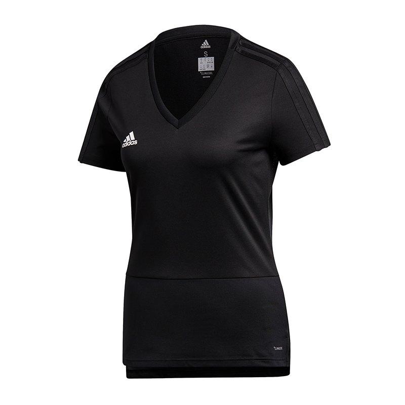 adidas Condivo 18 Trainigsshirt Damen Schwarz - schwarz