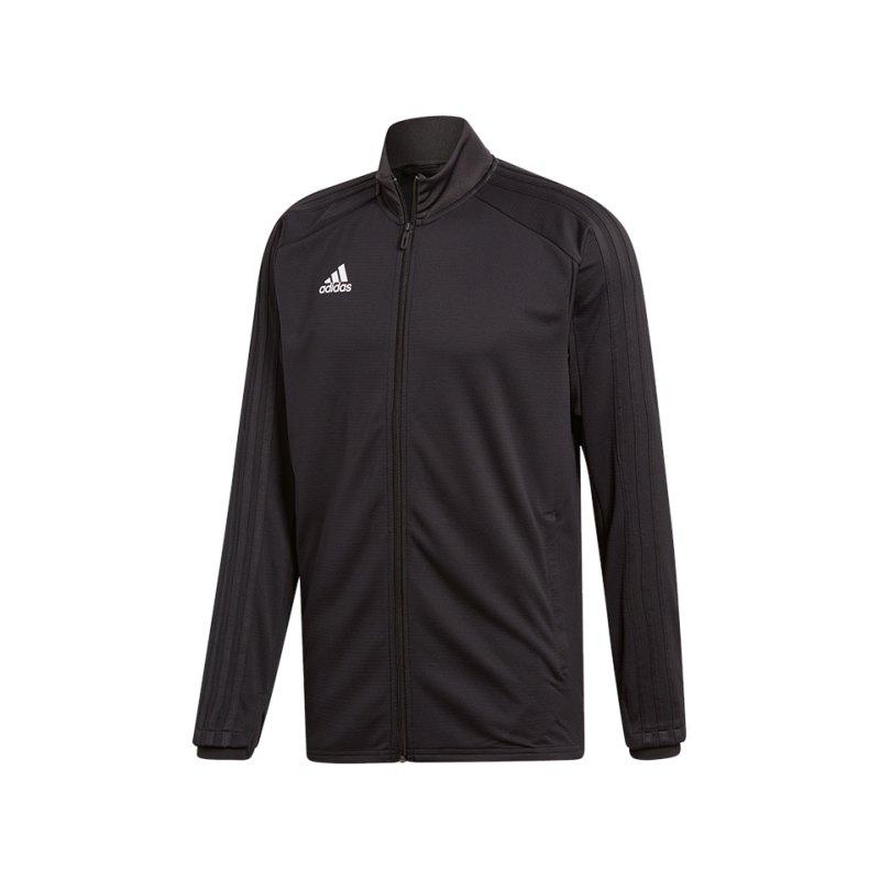 adidas Condivo 18 Trainingsjacke Schwarz Weiss - schwarz