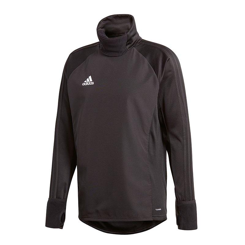 adidas Condivo 18 Warm Top Sweatshirt Schwarz - schwarz