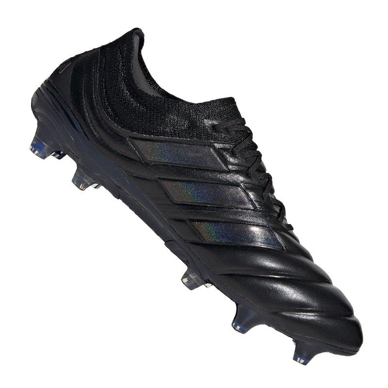 adidas COPA 19.1 FG Schwarz - schwarz