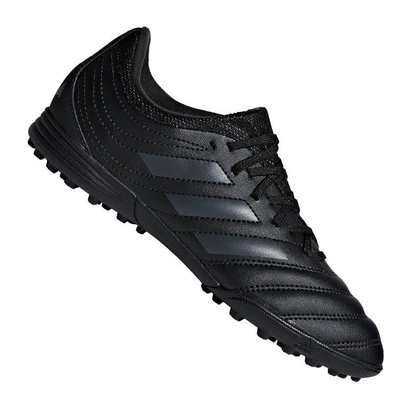 adidas COPA 19.3 TF J Kids Schwarz - schwarz