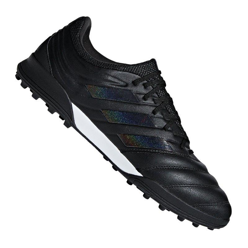 adidas COPA 19.3 TF Schwarz - schwarz