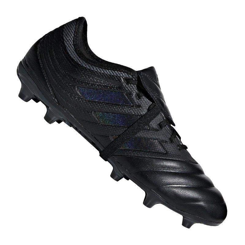 adidas COPA Gloro 19.2 FG Schwarz - schwarz