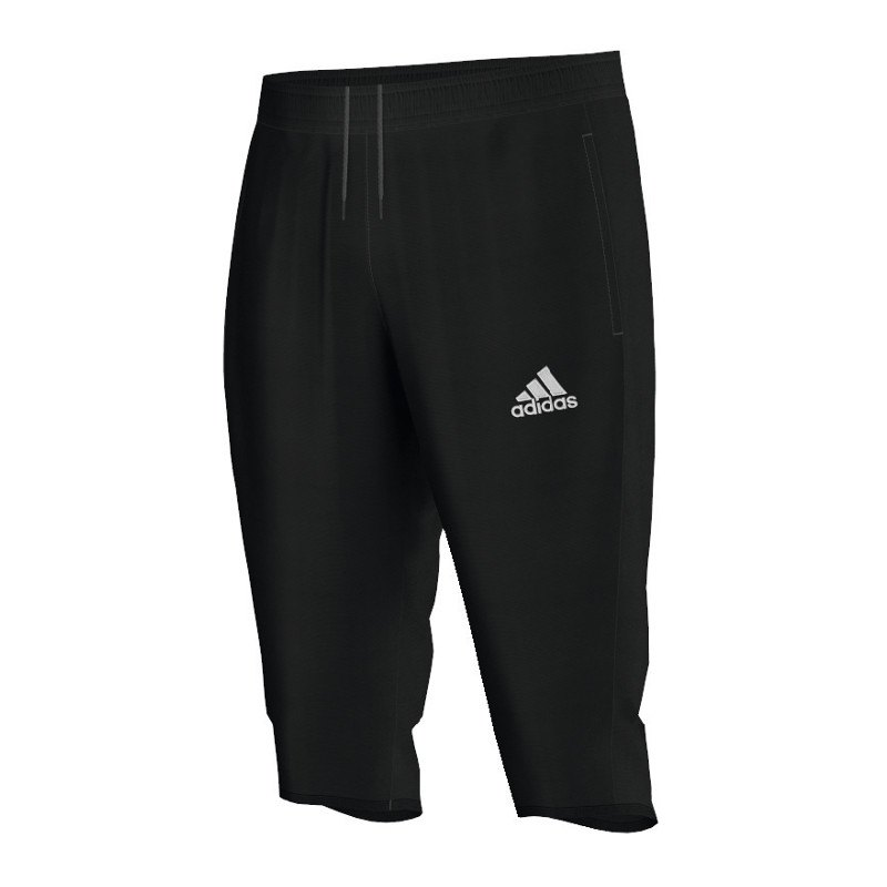 adidas core 15 3 4 pant hose schwarz schwarz. Black Bedroom Furniture Sets. Home Design Ideas