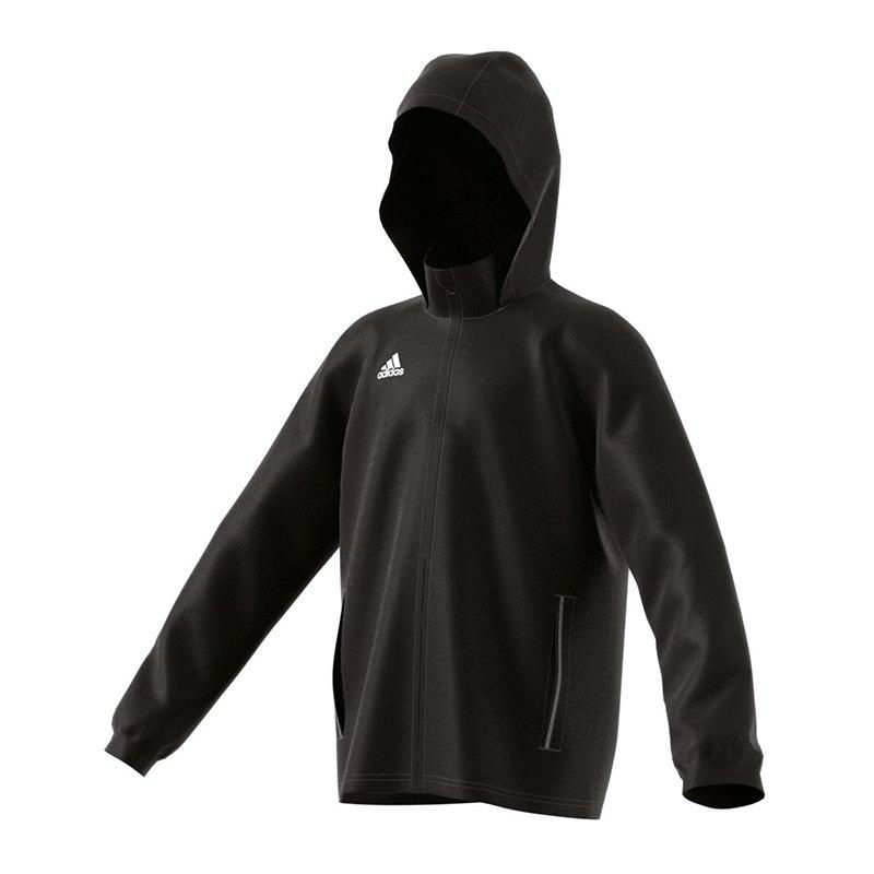 adidas adidas Core 15 Rain Jacket Regenjacke Kids Schwarz