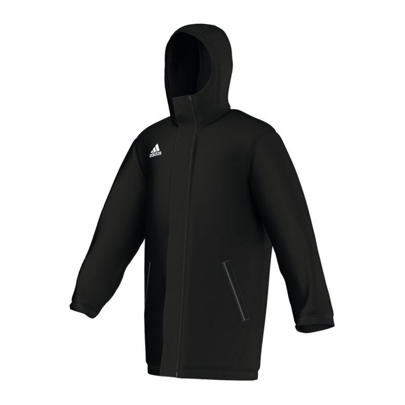 adidas Core 15 Stadionjacke Schwarz - schwarz