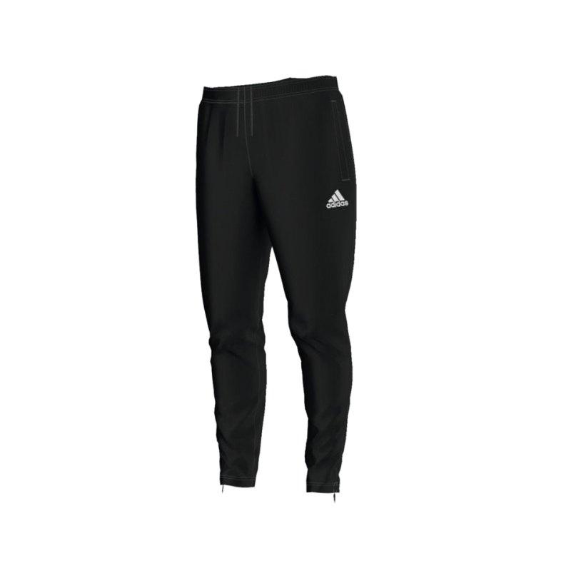 adidas Core 15 Training Pant Hose Kids Schwarz - schwarz